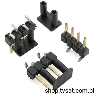 [100szt] 1241150-4 Connector 4 Pin Gold SMD TYCO