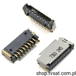 [10szt] 211-03040-00 Micro SD (T-Flash) Connector SMD ACT
