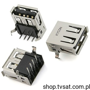 [20szt] KUSBX-AS1N-B Connect USB Type A RCP 4 Position THT KYCON