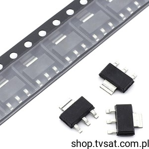[25szt] Tranzystor NPN 350V 1A BSP19 SMD-SOT223 PHILIPS