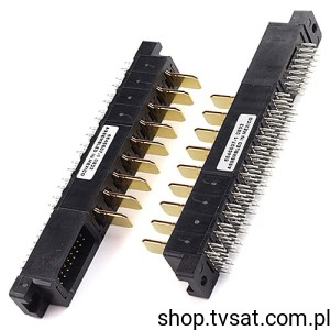 [1szt] 6646607-1 Connector Power 9 Pin + Driving THT TYCO