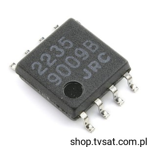 [10szt] IC Switch NJM2235M SMD-SO8 JRC