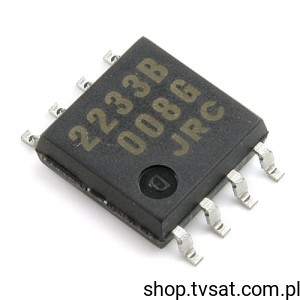 [10szt] IC Switch NJM2233BM SMD-SO8 JRC