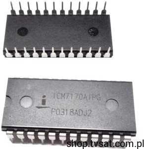 [1szt] ICM7170AIPG Real Time Clock Multiplexed DIP24 INTERSIL